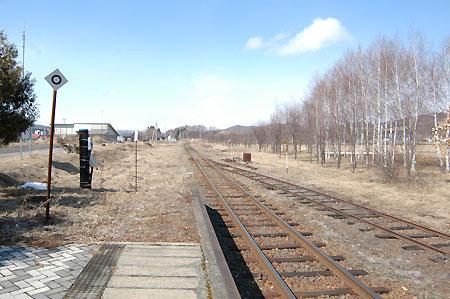 仙美里駅・ここから列車に乗せられて…